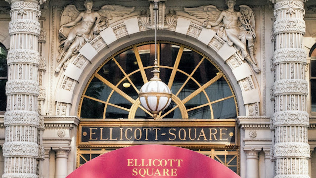 Buffalo Architecture: A self-guided architecture walk in downtown Buffalo: Ellicott Square Building