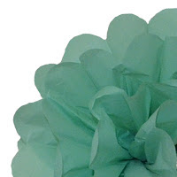 A Cost Effective Way Of Decorating Your Next Event With Tiffany Blue Using Tiffany Blue Pom Poms