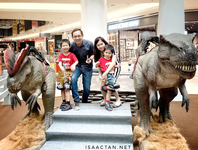 Dinosaurs Come Alive @ Paradigm Mall