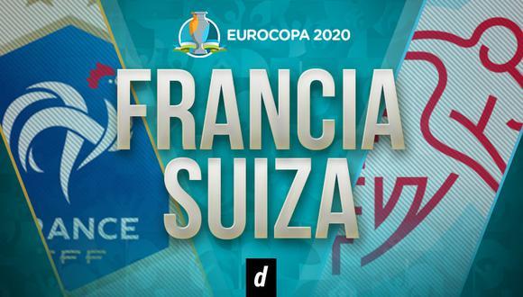 Francia vs Suiza EN VIVO: minuto a minuto por Eurocopa 2021