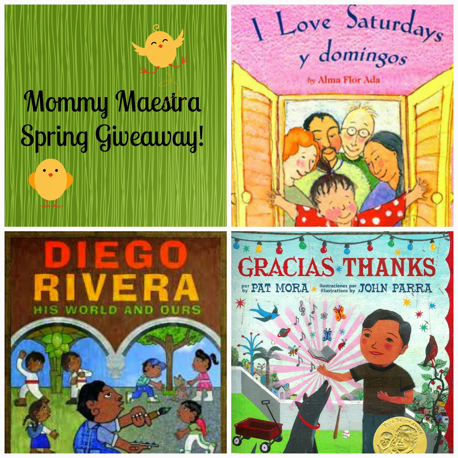 Mommy Maestra Mommy Maestra Spring Giveaway