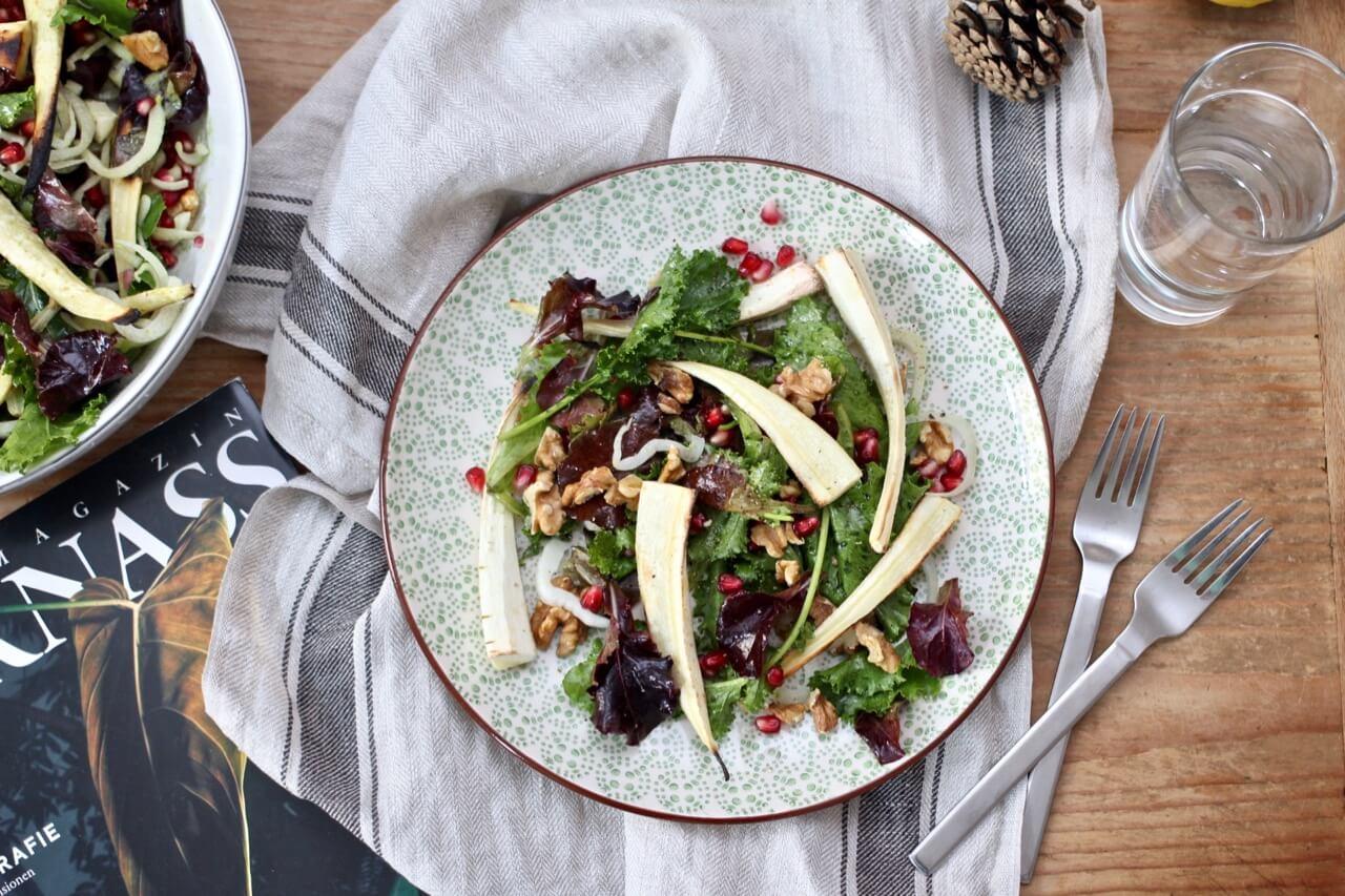 Lauwarmer Pastinaken-Salat Rezept