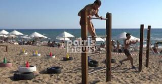 Αγωνίσματα τύπου «Survivor» στην παραλία της Ζαχάρως