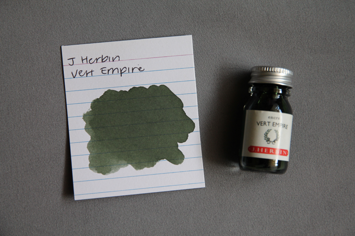 review: j. herbin vert empire