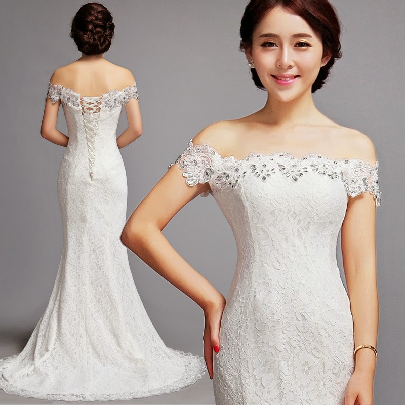 Wedding Gown Korean Style: Korean Style Mermaid Wedding Dress :: My Gown Dress