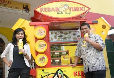 Hendy Setiono, Owner Kebab Turki Baba Rafi