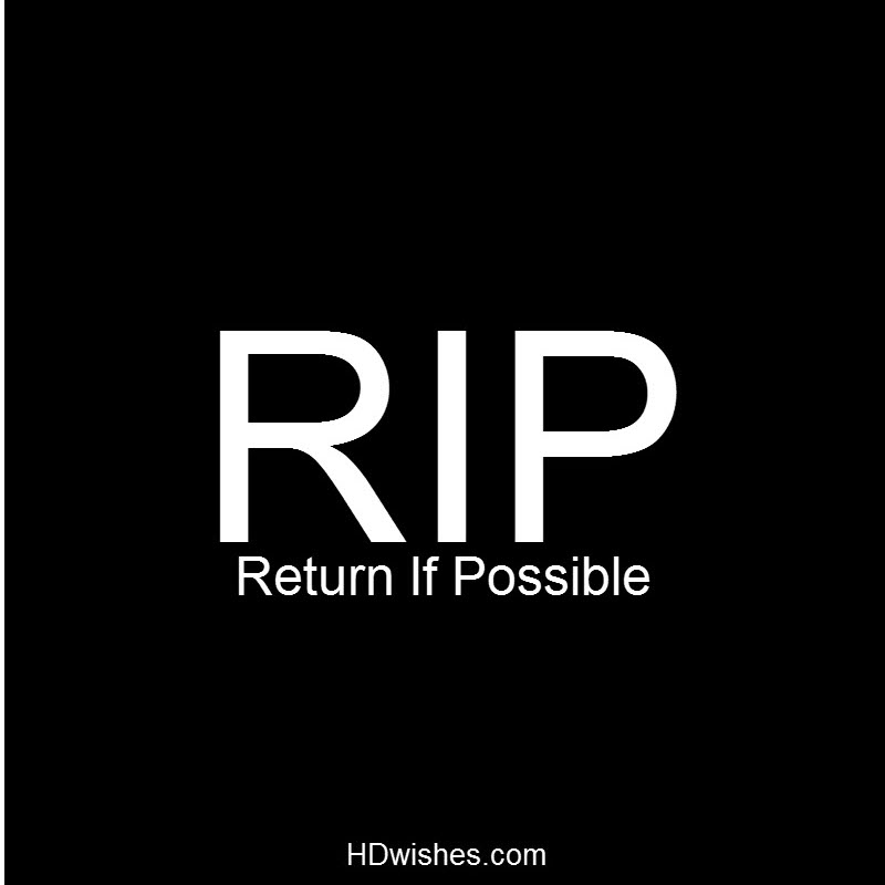 RIP Black DP