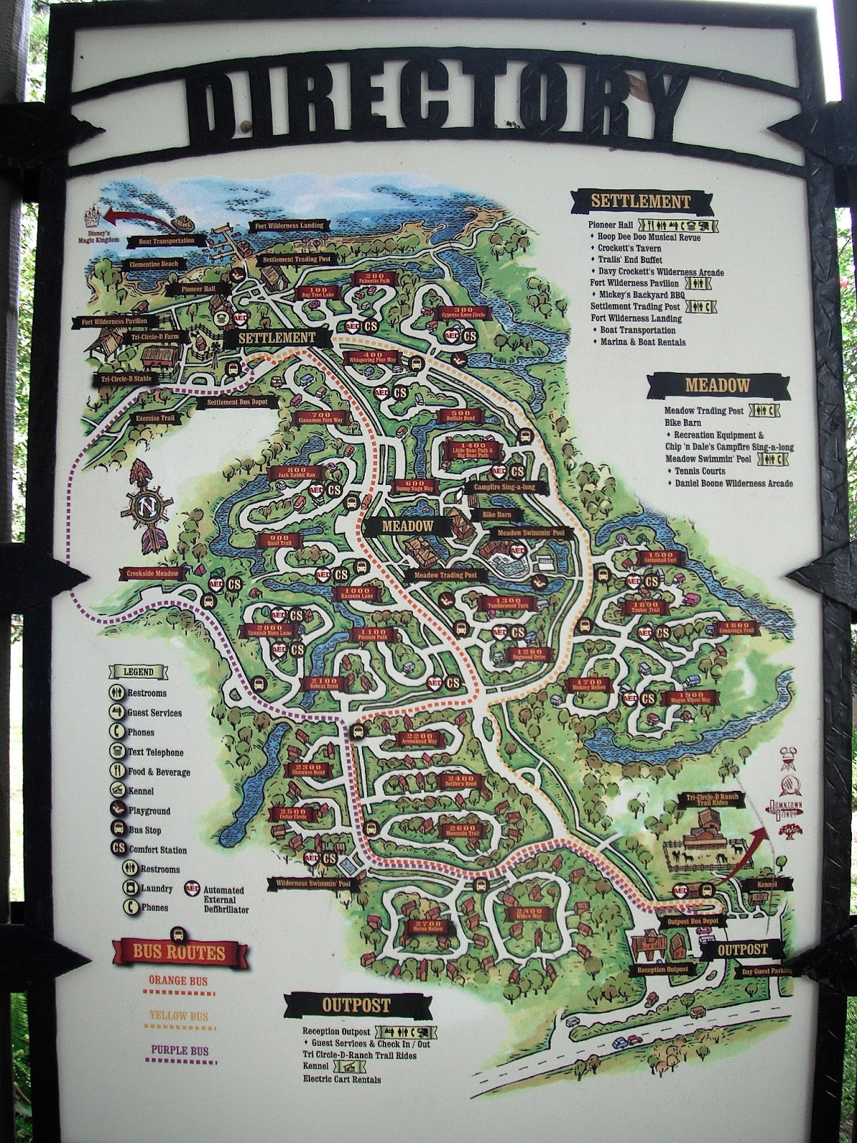 Image Result For Fort Wilderness Campsite Map