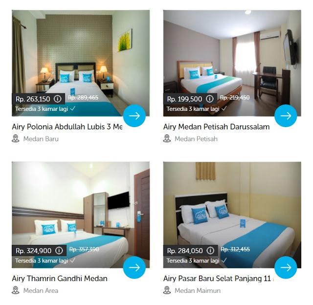 Hotel Airy Rooms dengan harganya yang murah