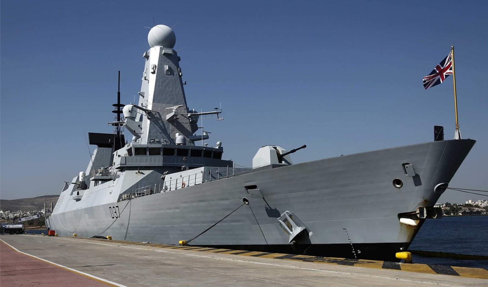 Setelah kejadian Salisbury AL Inggris ketakutan awak perusak HMS Duncan di Montenegro diserang