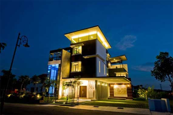 Lot 18 House-Modern And Unique House In Malaysia By