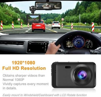 Ssontong Front and Rear Car Camera