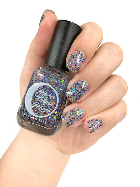 Moon Shine Mani Taste the Rainbow
