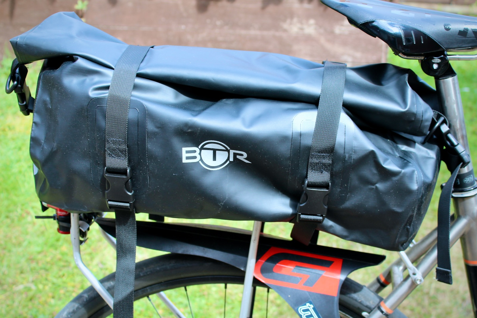 BTR Roll-Top Waterproof Rack-Top Duffel Trunk Bag