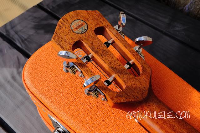 aNueNue Lion Orange UT Ukulele tuners
