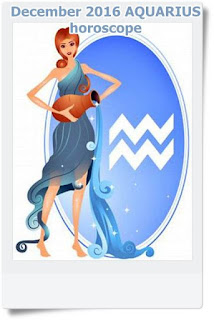 December 2016 AQUARIUS horoscope forecast zone