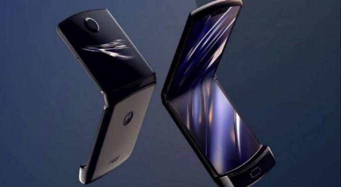 Motorola anuncia o seu celular de tela dobrável