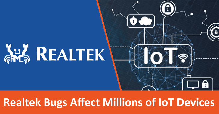 Severe Vulnerabilities in  Realtek SDK Affects Around Millions of IoT Devices