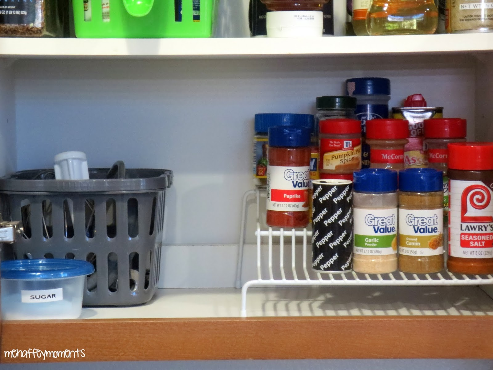 Kitchen Cabinet Cleaner Recipe Drawer Replacement An Organized Spice Mehaffey Moments