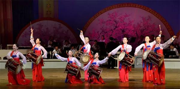 (3) Peculiarity of Korean dance