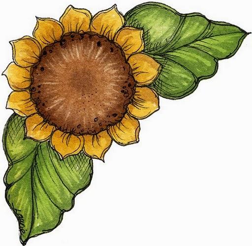 Flowers: Free Scrapbooking Corners for Weddings, Anniversaries or Engagement Parties.