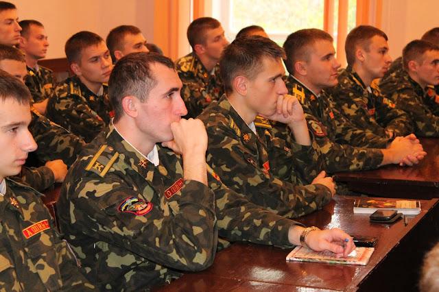Учасники семінару у Житомирському військовому інституті імені С.П. Корольова  за тематикою  Social Business Intelligence (Social Media Analytics, Social Media CRM)