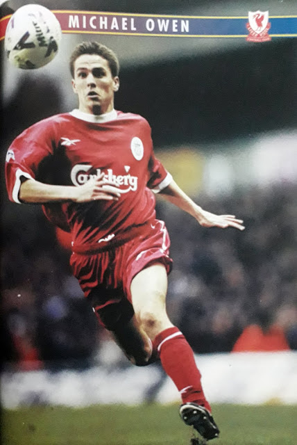 PIN UP MICHAEL OWEN (LIVERPOOL)