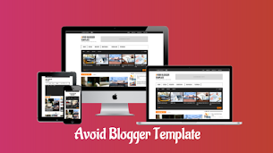 Avoid Responsive Premium Blogger Template - Responsive Blogger Template