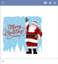 Old Fashioned Santa Claus Icon