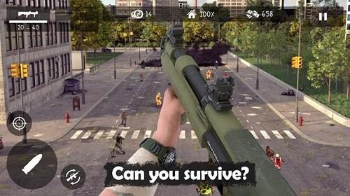 Dead Zed đặt gamer vào tình thế sống còn trước bầy đàn xác sống khát máu