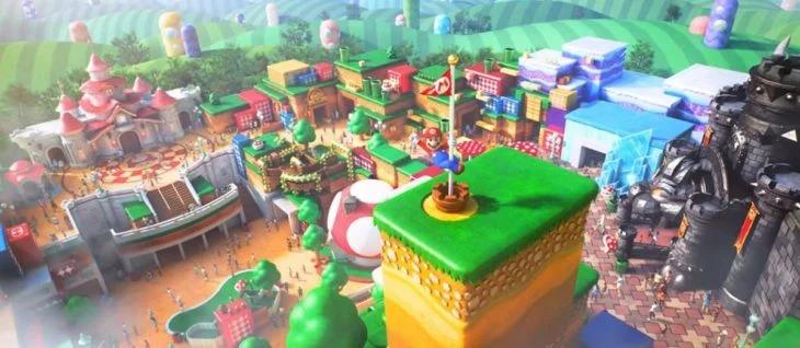Se filtra un video que muestra cómo luce el Super Nintendo World en Japón