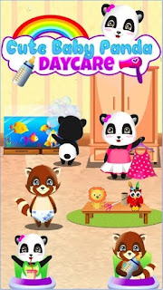 Game Cute Baby Panda - Daycare App