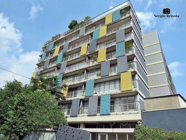 Vista ampla do lindo Edifício POP Madalena - Vila Madalena - São Paulo