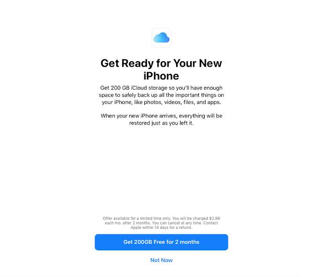 Apple iCloud Kampanyası