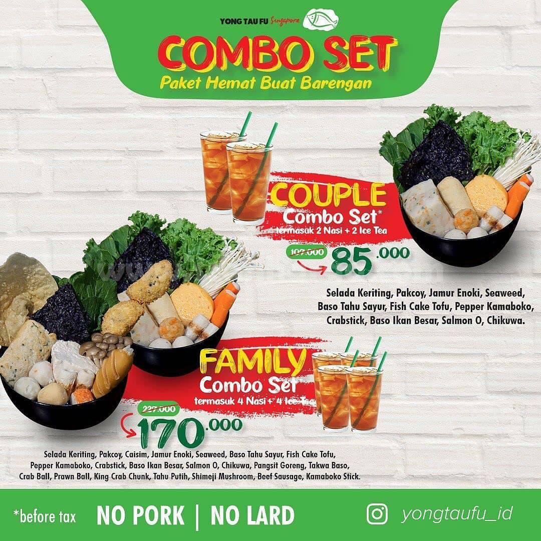 YONG TAU FU COMBO SET – harga spesial paket COUPLE & FAMILY mulai Rp. 85.000