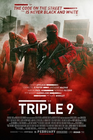 Triple 9 (2016) Hindi Dual Audio 350MB BRRip 480p