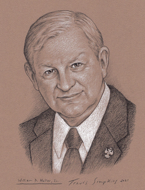 William D. Haller, 33°. Supreme Council. Scottish Rite, NMJ. by Travis Simpkins