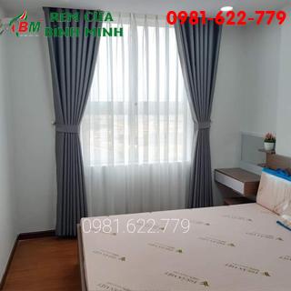 màn cửa sổ màu xám cho phòng ngủ,mang đến cho bạn không gian mát mẻ dễ chịu.