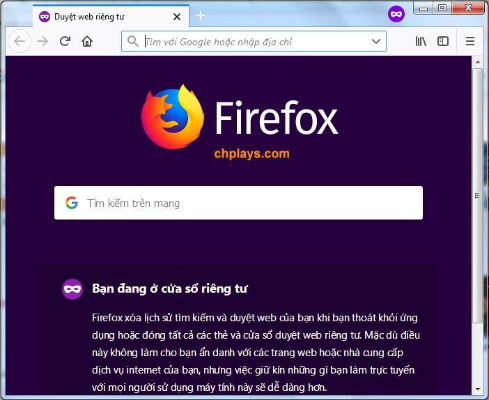 Download Firefox- Tải trình duyệt Mozilla Firefox tiếng Việt mới nhất b