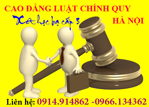 Xét tuyển Cao đẳng Luật Hà Nội chính quy 2016 - Xét học bạ THPT