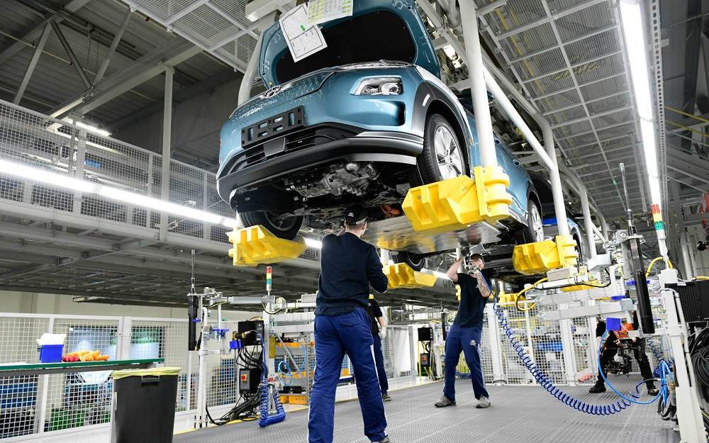 Hyundai starts production of Kona Electric in the Czech Republic