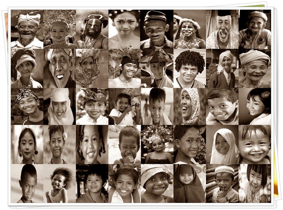 Jumlah dan nama-nama suku yang ada di Indonesia