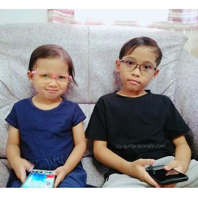 Lindungi Mata Anak Anda Dengan Cermin Mata Anti Blue Light SaferOptics, saferoptics, lindung mata anak, protect kids eyes, cermin mata untuk anak, lens for kids, cermin mata saferoptics