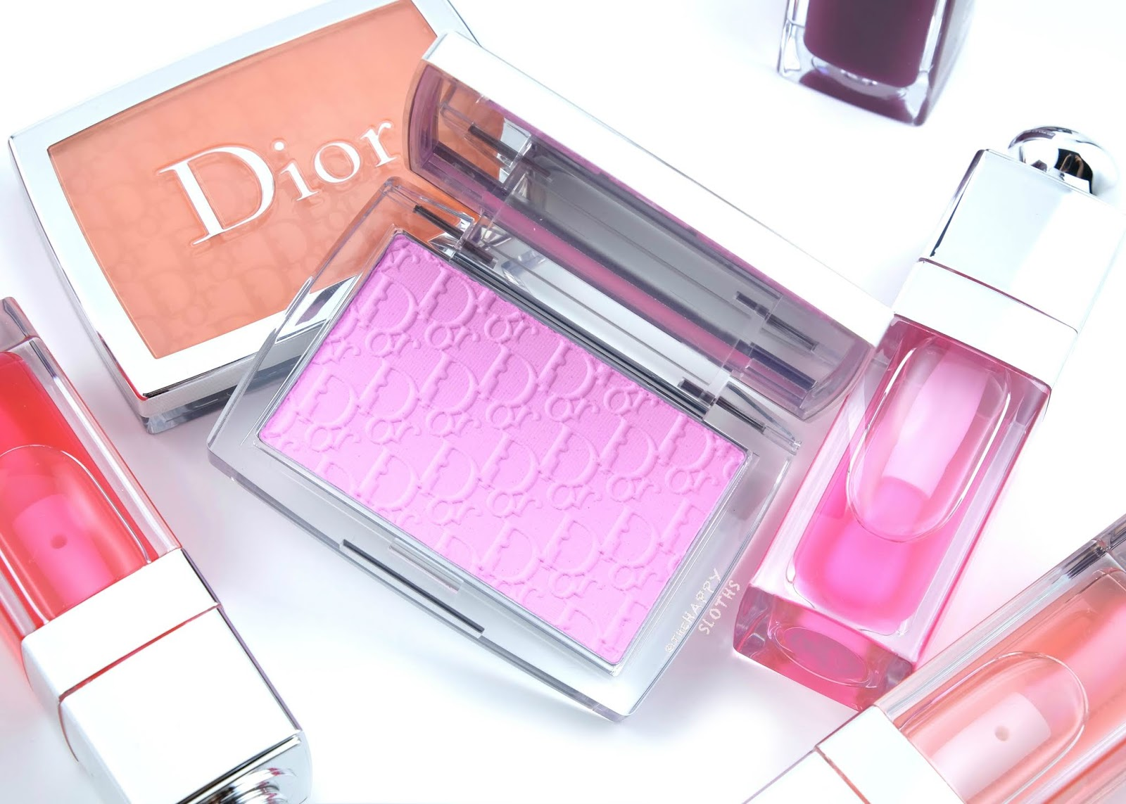 "Dior | Spring 2020 Glow Vibes Collection | Dior Backstage Rosy Glow Blush in ""001 Pink"": Review and Swatches"
