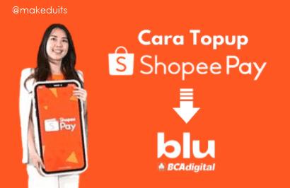 Cara Isi Saldo Shopeepay via Aplikasi Blu BCA