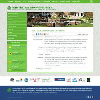Script Untuk Website Portal Kampus Responsive dengan Codeigniter