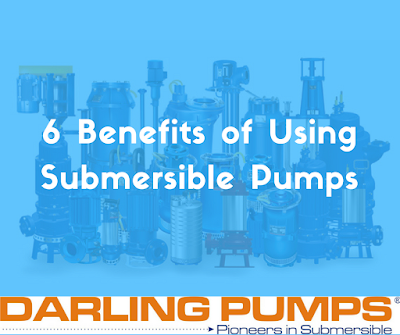 Benefits of Submersible Pumps by Darling Pumps, Indore