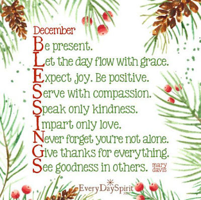 imagini pentru december blessings
