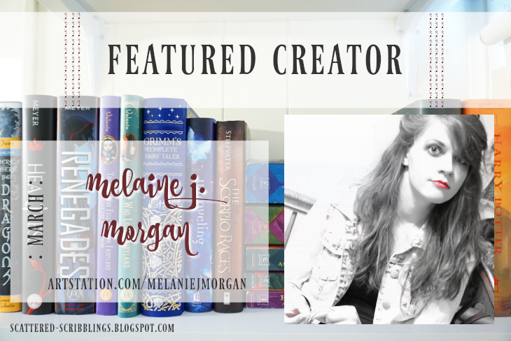 Featured Creator - March // MELANIE J. MORGAN [post title image]