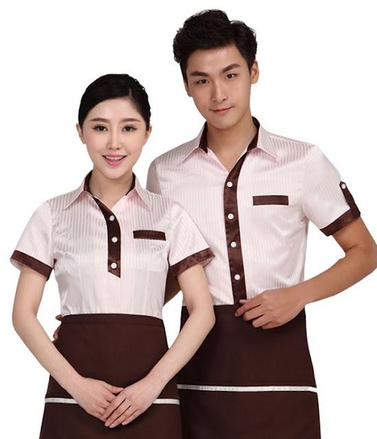 Váy và quần phục vụ cũng cần thoáng mát, dễ vận động